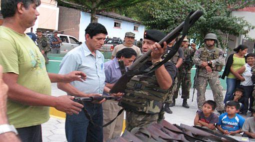 Militares reactivaron las rondas campesinas en Jauja, ante presencia de Sendero Luminoso