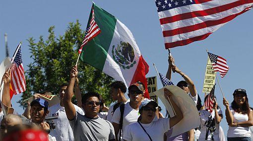 Miles marcharon en EE.UU. contra la ley de inmigración