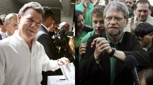 Elecciones en Colombia: Juan Manuel Santos ganó pero definirá la segunda vuelta con Antanas Mockus