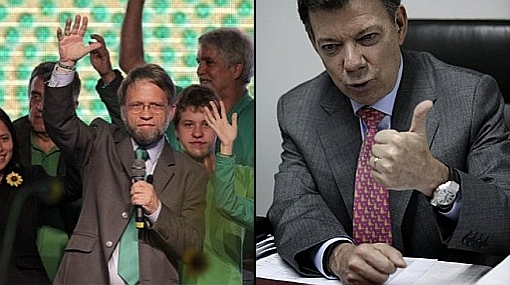 Mockus admite que las encuestas lo ilusionaron y que será difícil ganarle a Santos en segunda vuelta