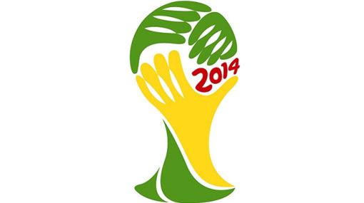 Este es el logo oficial de Brasil 2014