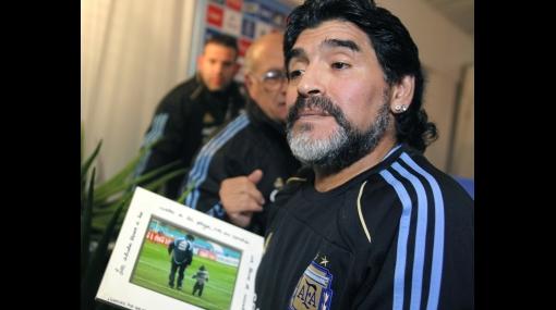 Sepa cuál es la cábala de Maradona para ganar el Mundial de Sudáfrica