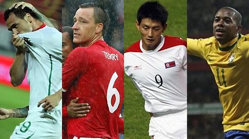 ¿Quiénes son los más gordos y los más flacos del Mundial?