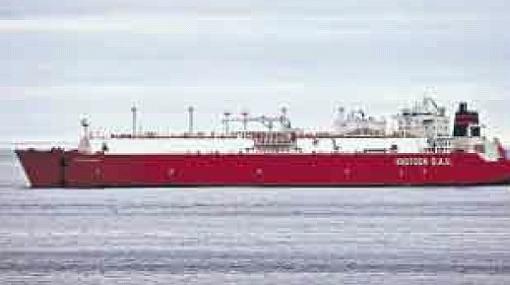 Llegó a Chincha el primer barco que transportará el gas de Camisea a México