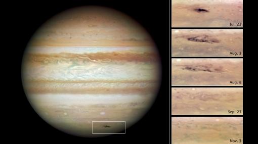 Júpiter recibió impacto del tamaño del océano Pacífico