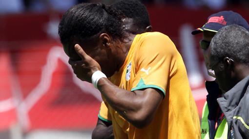 """Didier Drogba: """"El Mundial se acabó para mí"""""""