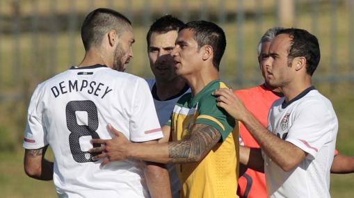 Estados Unidos atemoriza a Inglaterra: derrotó a 3-1 a Australia