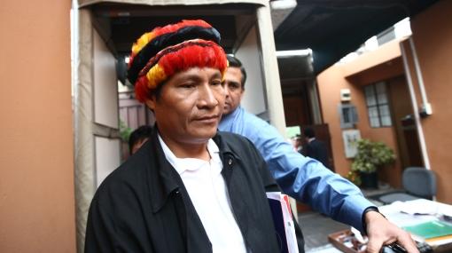 Alberto Pizango ofreció ayuda para buscar al mayor Bazán