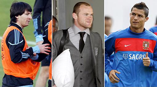 Rooney prefiere a Messi que a Cristiano Ronaldo como compañero de equipo