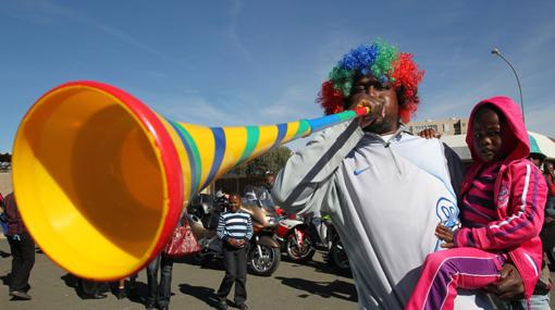 El ruido de las vuvuzelas puede causar daños auditivos, según estudio