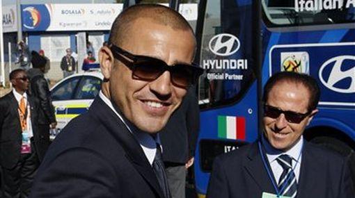 Selección italiana llegó a defender su título en Sudáfrica