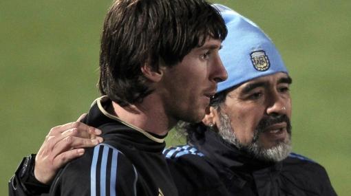 """Maradona: """"Argentina es un Rolls Royce y tenemos a Messi manejando"""""""