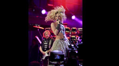 FOTOS: el sensual baile de Shakira en el concierto previo al Mundial