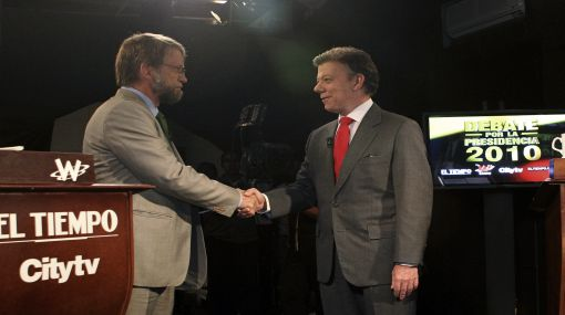 Elecciones en Colombia: candidatos Santos y Mockus se lanzaron acusaciones en debate