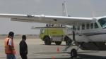 Nasca: nave secuestrada se usó para cargar 500 kg de droga - Noticias de grand caravan