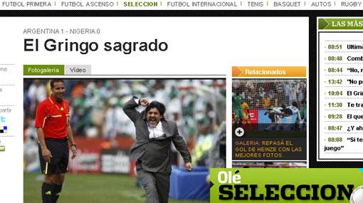 """La prensa argentina considera a Heinze como un """"gringo sagrado"""""""