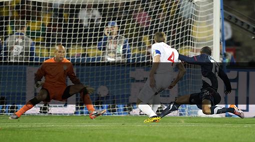 Ingleses molestos porque la señal HD se cortó justo en el gol de Gerrard