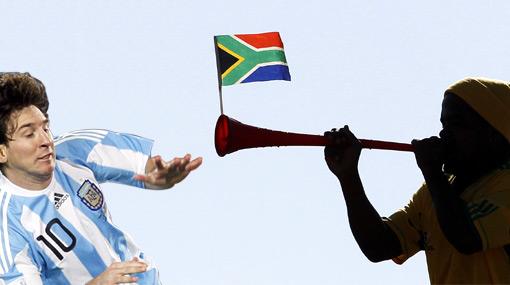 Lionel Messi se quejó de las vuvuzelas y la FIFA evalúa prohibirlas