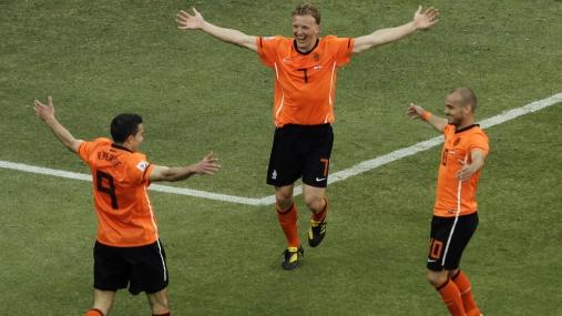 """Sneijder y una verdad: """"Las vuvuzelas son tradición de Sudáfrica y tenemos que aceptarlo"""""""