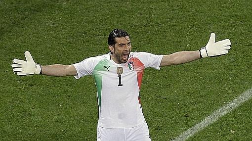 Buffon sin fecha de retorno a las canchas por lesión en el nervio ciático