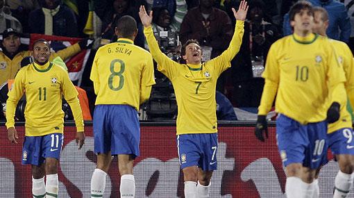 Brasil derrotó 2-1 a un Corea del Norte que lo hizo sufrir más de la cuenta