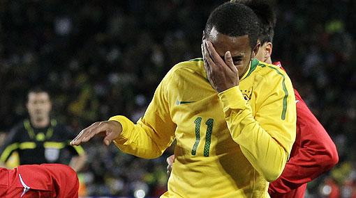"""Robinho promete: """"El próximo partido jugaremos mejor"""""""