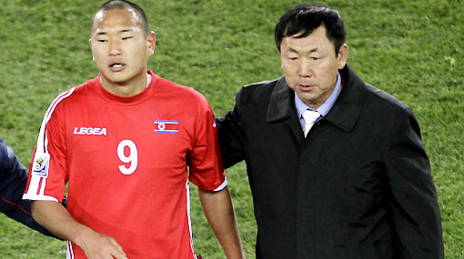 """Técnico de Corea del Norte: """"Estoy orgulloso de nuestro gol a Brasil"""""""