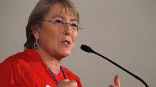 Chile contará con el aliento de la ex presidenta Bachelet para enfrentar a Honduras