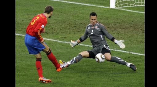 FOTOS: reviva la sopresiva derrota de España en su debut ante Suiza