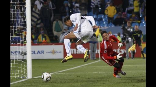 FOTOS: así fueron los golazos de Uruguay ante Sudáfrica