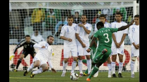 Grecia le ganó a Nigeria 2-1 en su lucha por clasificar a octavos