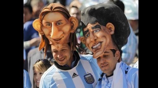 """FOTOS: """"Volveremos a ser campeones como en el 86"""", fue el grito en la celebración argentina"""