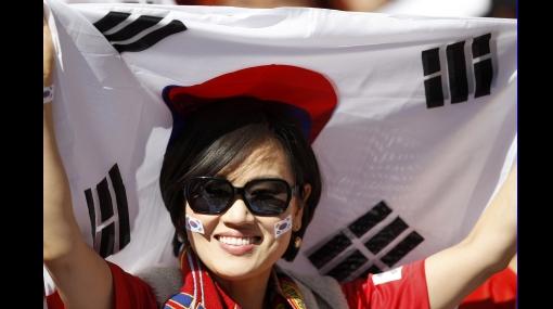 FOTOS: las fanáticas de Corea del Sur también tienen lo suyo
