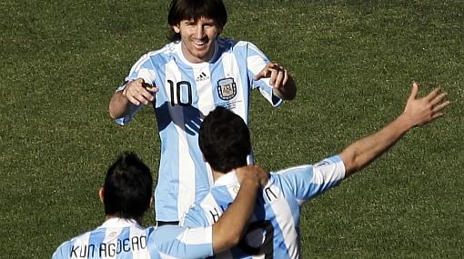 """Despreocupado Lionel Messi: """"El gol ya llegará"""""""