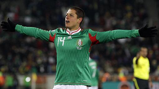 El 'Chicharito' Hernández siguió los pasos de su abuelo con gol a Francia