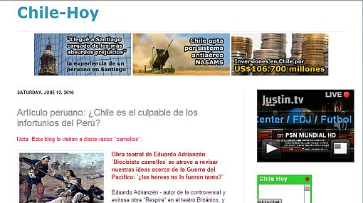 Chilenos lanzan irreproducibles comentarios en contra de una obra de Eduardo Adrianzén