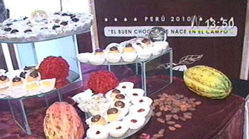 El primer Salón del Cacao y Chocolate del Perú nos pondrá en vitrina
