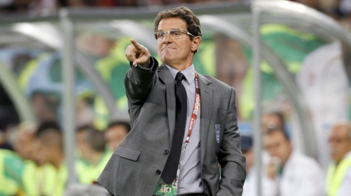 No fue un cumpleaños feliz: Capello decepcionado por actuación de la selección inglesa