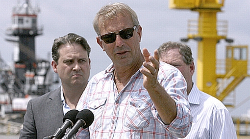 BP utilizará máquinas de Kevin Costner para limpiar derrame de crudo