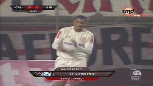 Universitario goleó 3-0 al José Gálvez con goles de Píriz, Rainer Torres y Ruidíaz
