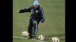 Como en los viejos tiempos: el show de Maradona en la práctica de Argentina - Noticias de universidad feredico villarreal