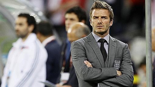 """Hincha acusado de increpar a Beckham en vestuario inglés: """"Solo buscaba el baño"""""""