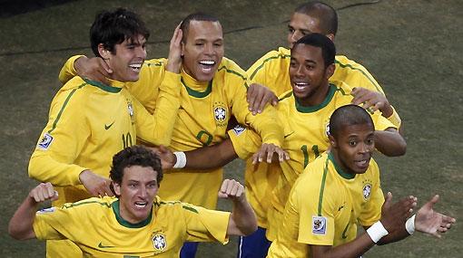 Brasil venció 3-1 a Costa de Marfil y garantizó un lugar en octavos de final