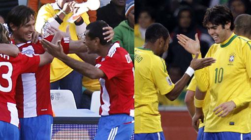 Reporte desde Sudáfrica: Brasil y Paraguay siguen firmes en el Mundial