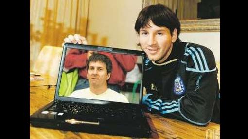 ¡Feliz día, papá! Lionel Messi le envió saludos a su padre