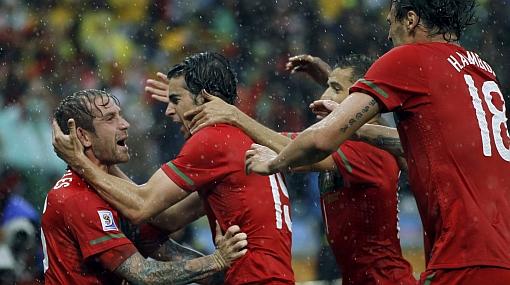 Portugal aplastó 7-0 a Corea del Norte y Cristiano 'solo' anotó un gol