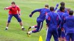 Francia volvió a entrenar tras boicot de jugadores - Noticias de patrice evra