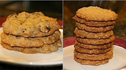 Recetas: dos maneras de hacer galletas de avena