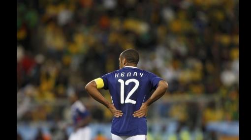 Francia quedó eliminada del Mundial tras perder 2-1 ante Sudáfrica