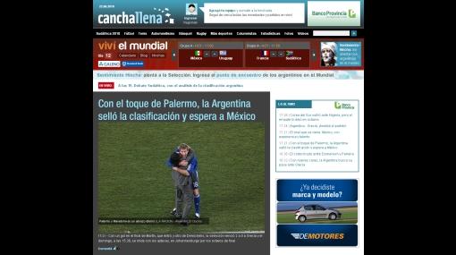 """""""Ahora, México"""", titula la prensa gaucha tras clasificación de Argentina"""